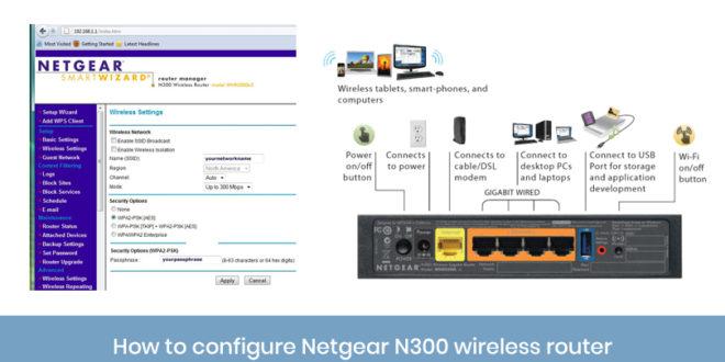 How to configure netgear n300 wireless router netgear n300 keyboard keysfo Gallery
