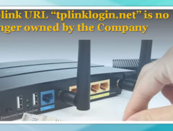 "Tplink URL ""tplinklogin.net"" is no longer owned by the Company"