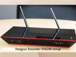 Netgear Extender EX6200 setup