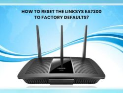 How to Reset the Linksys EA7300 to Factory Defaults?