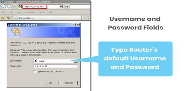 How to access your router page as an admin?