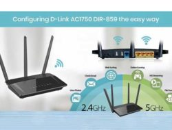 Configuring D-Link AC1750 DIR-859 the Easy Way