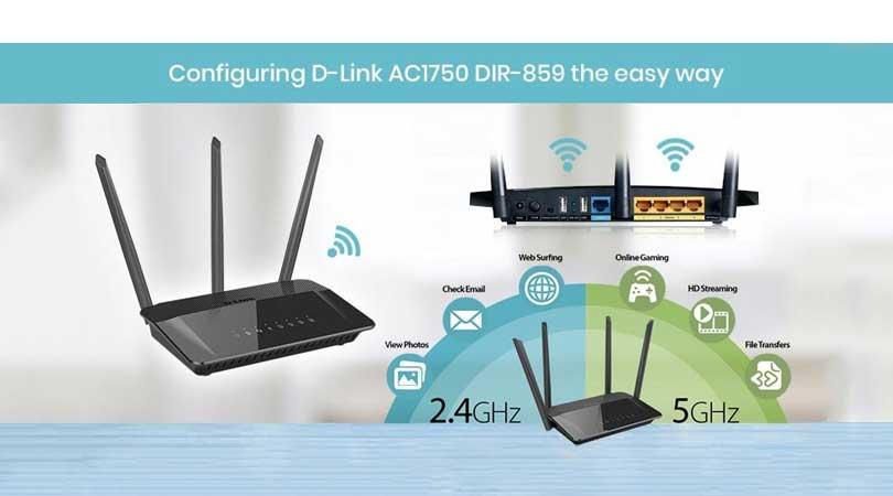 Configuring D-Link AC1750 DIR-859 the Easy Way