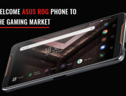 Welcome Asus ROG phone to the Gaming market