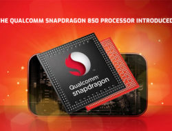 The Qualcomm Snapdragon 850 processor introduced!